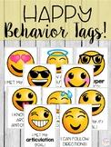 Emoji Brag Tags for Speech & Language
