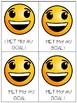Happy Brag Tags for Speech & Language