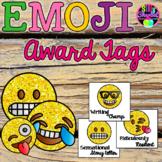 Emoji Award Tags for Positive Classroom Management