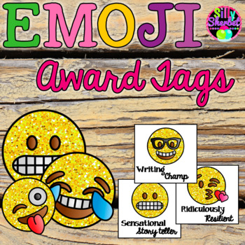 Emoji Award Tags for Positive Classroom Management
