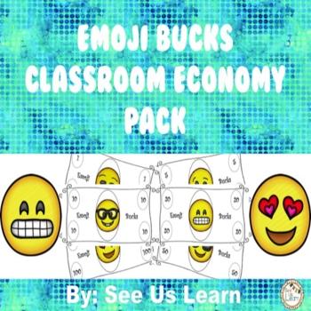 Emoji Bucks Classroom Economy Pack