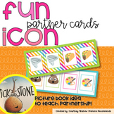 Fun Icon Buddies Partner Cards