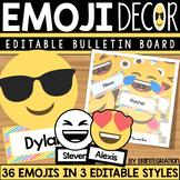 Emoji Decor Editable Bulletin Board Accents