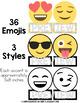 Emoji Classroom Decor Editable Bulletin Board Accents