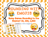 Emoji Bump Games-Rounding to the Nearest 10, 100 and 1,000