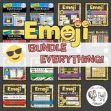 Emoji Bundle EVERYTHING! - Emoji Theme Decor, Tech Lessons, Breakouts, Awards