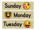 Emoji Calendar Set