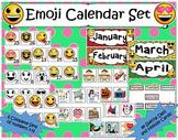 Emoji Calendar Set- 6 Complete Number Sets AND 84 Special Day Cards