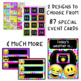 Emoji Classroom Decor Calendar and Birthday
