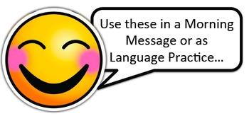 Emoji Call Out Tag Set - Classroom Decor: EDITABLE
