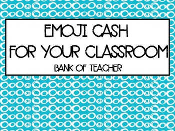 Merit Money-Emoji Theme Cash for your Classroom