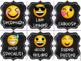 Emoji Chalkboard Classroom Jobs Decor (Helpers)  EDITABLE