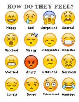 Emoji Character Feelings