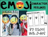 Emoji Character Feelings Reading/Writing Packet