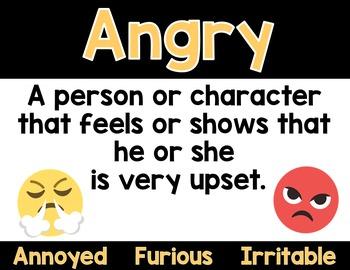 Emoji Character Trait Posters