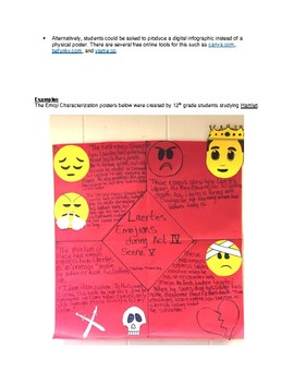 Emoji Characterization Poster Assignment (Level 3)