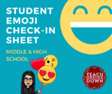 Emoji Check-In for Middle & High School Students