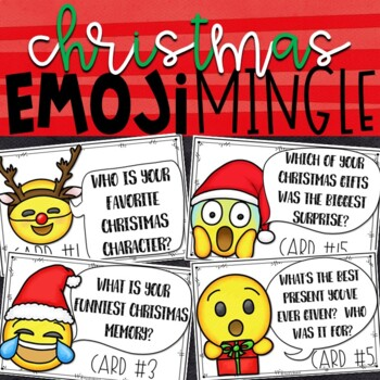 Emoji Christmas Activity   Christmas Party Activity