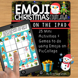 Emoji Christmas Countdown on the iPad