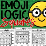 Emoji Christmas Math Logic Puzzles
