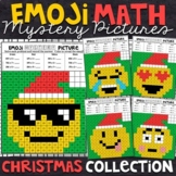 Emoji Christmas Mystery Pictures | 2 and 3 Digit by 1 Digit Multiplication