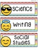 Emoji Class Daily Schedule