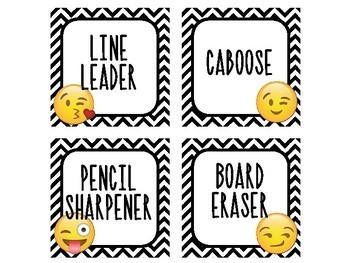 Emoji Class Jobs