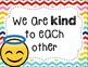 Emoji Class Rules Posters