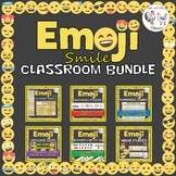 Emoji Classroom Bundle - Calendar, Name Plates, Hundreds,