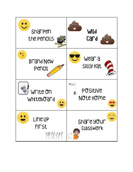 Emoji Classroom Coupons
