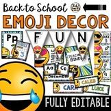 Emoji Classroom Decor: BUNDLE