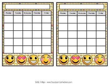 Emoji Classroom Decor: Emoji Themed Class Decor