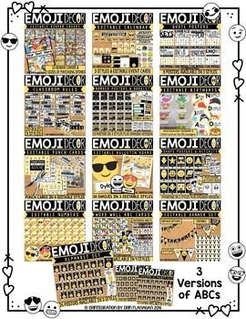 Classroom Decor Emoji MEGA Bundle: Editable