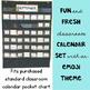 Emoji Classroom Decor: Calendar Set