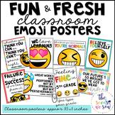 Emoji Classroom Decor: Classroom Posters