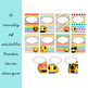Emoji Classroom Decor: Editable Binder Covers and Spines