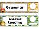 Emoji Classroom Decor: Editable Schedule Cards
