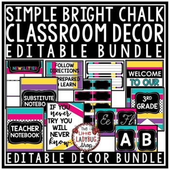 Emoji Theme Classroom Decor EDITABLE