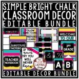 Emoji Classroom Decor EDITABLE [Emoji Classroom Theme Back to School]