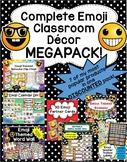 Emoji Classroom Decor MEGAPACK- 7 Items Included
