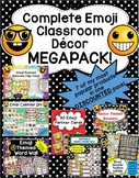 Emoji Classroom Decor MEGAPACK- 7 Items Included