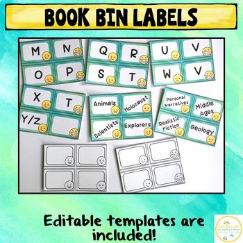 Emoji Classroom Decor Pack {Editable}