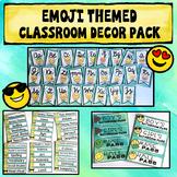 Emoji Classroom Theme Decor Pack