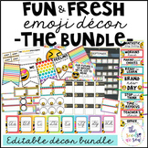 Emoji Classroom Decor: The Bundle
