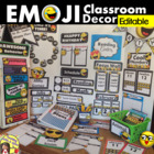 Emoji Classroom Decor Ultimate BUNDLE Theme 30% OFF BACK TO SCHOOL