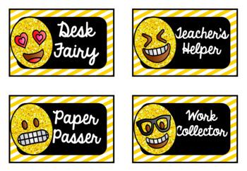 Emoji Classroom Jobs