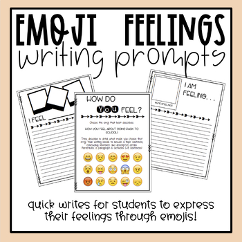 Emoji Classroom Management - Whole Group, Small Group or I