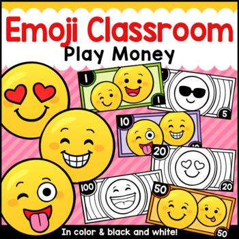Emoji Theme Classroom Decor Classroom Money