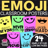 Emoji Posters | Positive Quotes Posters