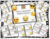 Emoji Classroom Reward Passes